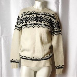 Polo Ralph Lauren Snowflake Fair Isle Sweater